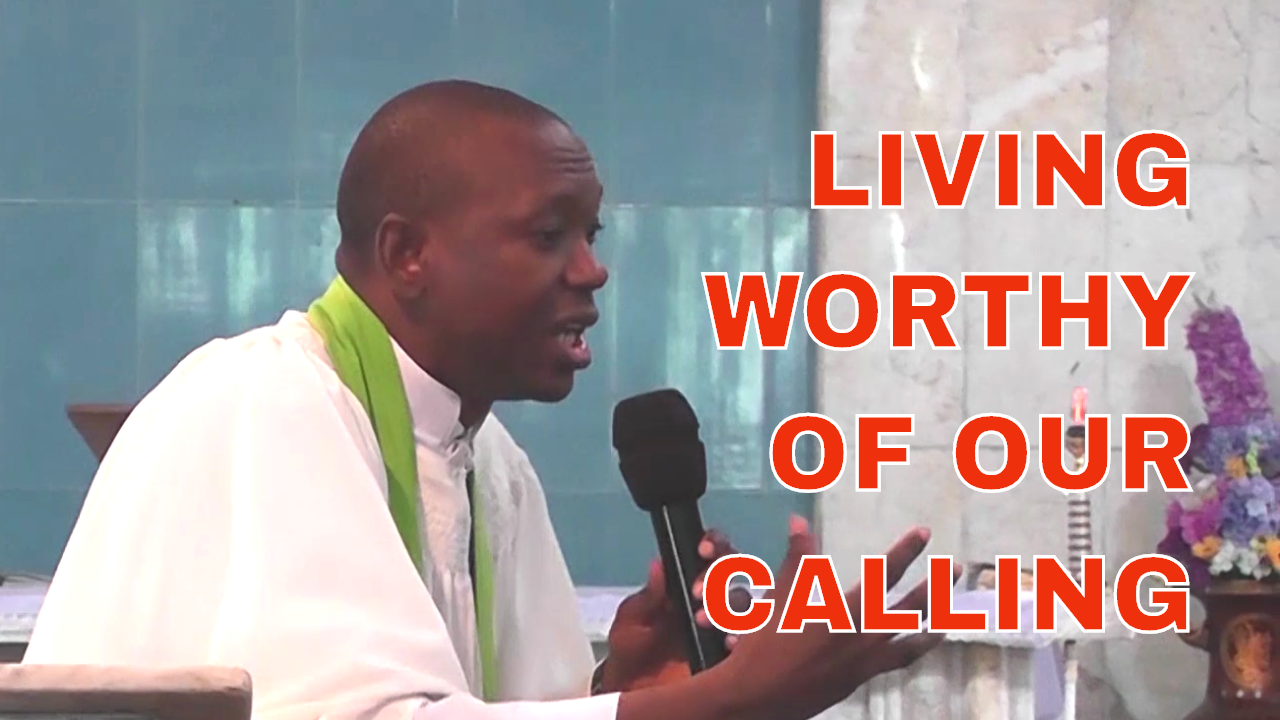 Living Worthy Of Your Calling (Video Sermon) | Hosanna David